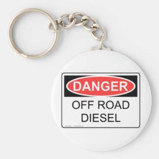 DANGER OFF ROAD DIESEL KEY RING