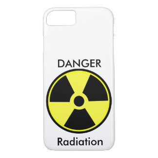 Danger Radiation iPhone 7 Case