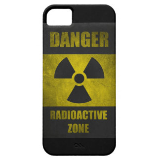 Danger Radioactive Zone Retor Funny iPhone 5 Case