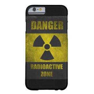 Danger Radioactive Zone Retor Funny iPhone 6 case