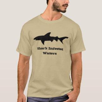 Danger: Shark Infested Waters T-Shirt