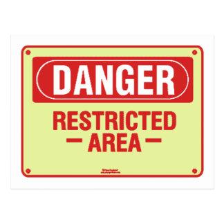 Danger Sign Design! Unique cool design! Postcard