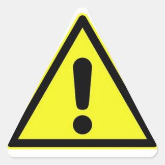 Danger Sign Sticker