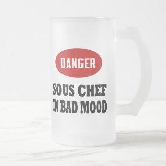 Danger Sous Chef Mugs