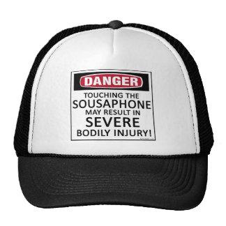 Danger Sousaphone Mesh Hat