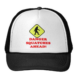 Danger squatches ahead cap