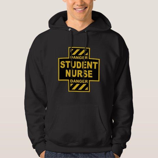 Danger Student Nurse Hoodie