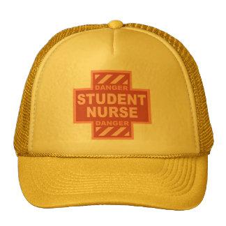 Danger Student Nurse -pink Trucker Hat