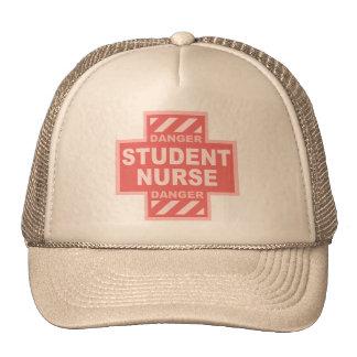 Danger Student Nurse! -pink Hat