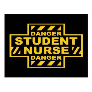 Danger Student Nurse Post Cards