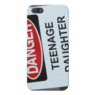 Danger Teenage Daughter Sign iPhone 5 Cover