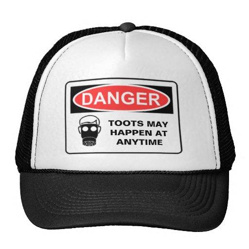 DANGER TOOTS MAY HAPPEN AT A... MESH HATS