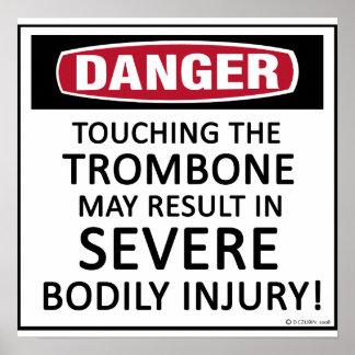 Danger Trombone Posters