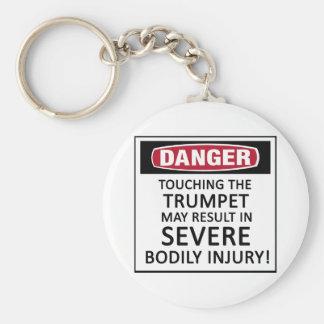 Danger Trumpet Keychains