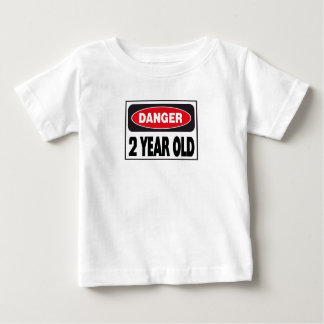 Danger Two Year Old T-shirts