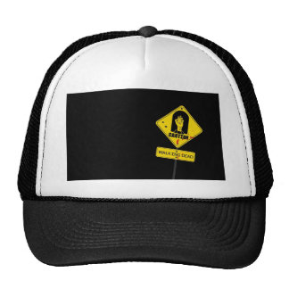 Danger Walking Zombies Hats