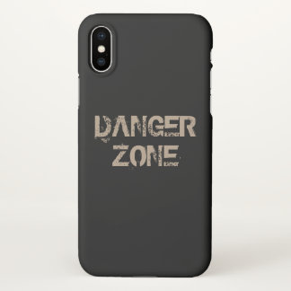 Danger zone iPhone x case