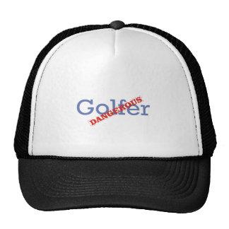 Dangerous Golfer Mesh Hats