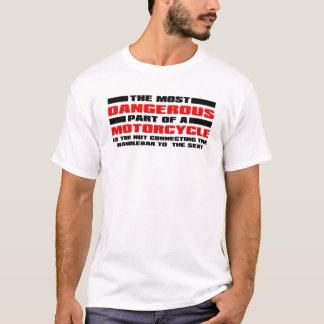Dangerous Nut Funny Motorcycle Dirt Bike Motocross T-Shirt