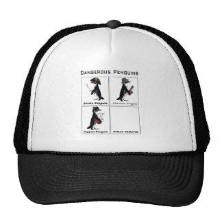 dangerous penguins mesh hat