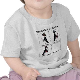 dangerous penguins t-shirt
