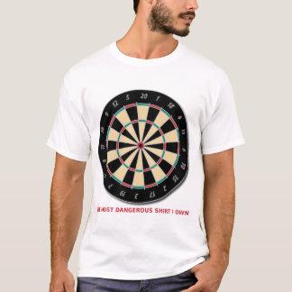 Dangerous Shirt Funny Shirt Humor Dart Board