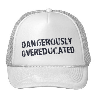 Dangerously Overeducated Mesh Hats