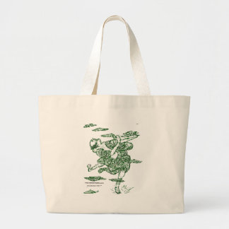 Danging Poet Canvas Bags