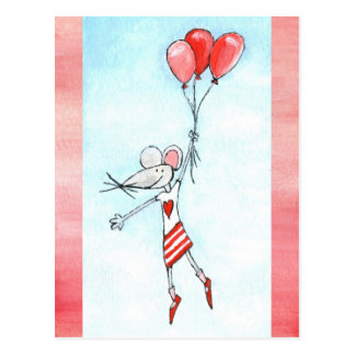 Dangling Mouse Postcard