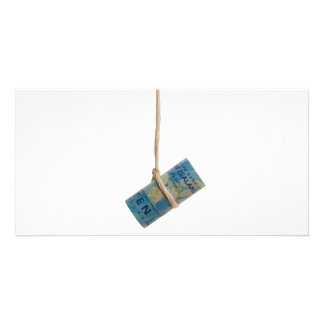 Dangling New Zealand dollar Custom Photo Card