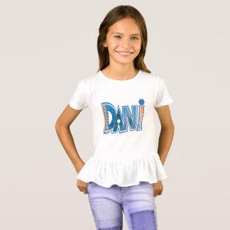 """Dani"" Graphic on Girl's White T-Shirt"