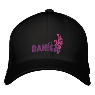 Danica's Music Embroidered Baseball Caps