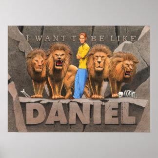 Daniel and The Lion's Den - Boy Poster