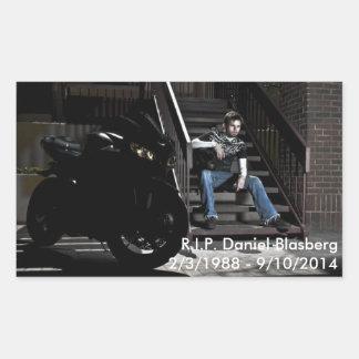 Daniel Blasberg Rectangular Sticker
