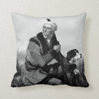 Daniel Boone Cushion
