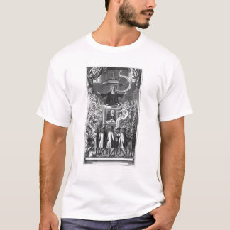 Daniel Burgess, illustration from 'Portraits T-Shirt