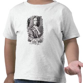 Daniel Defoe, engraved by Michael Van der Gucht T-shirts