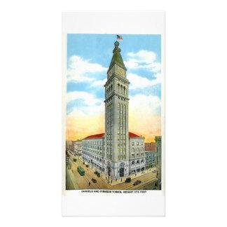 Daniel Fisher Tower, Denver, Colorado Photo Card