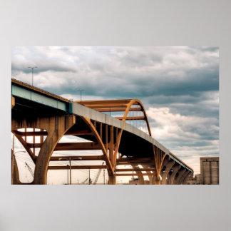 Daniel Hoan Memorial Bridge Poster