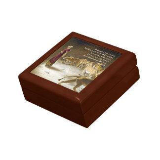 Daniel in the Lion's Den Bible Art Scripture Gift Box
