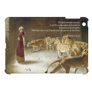 Daniel in the Lion's Den Bible Art Scripture iPad Mini Covers