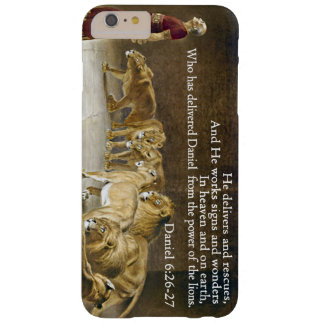 Daniel in the Lion's Den Bible Scripture Christian Barely There iPhone 6 Plus Case