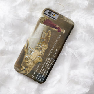 Daniel in the Lion's Den Bible Scripture Christian Barely There iPhone 6 Case