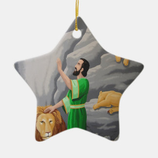 Daniel in the Lions Den Christmas Ornament