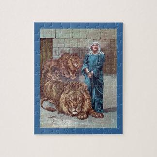 Daniel in the Lions Den Puzzle