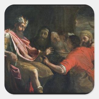 Daniel Interpreting Nebuchadnezzar's First Dream ( Sticker