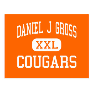Daniel J Gross - Cougars - Catholic - Omaha Postcard