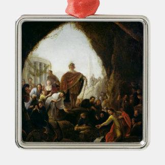 Daniel Killing the Dragon of Baal Christmas Ornament