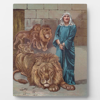 Daniel Lions Den Plaque