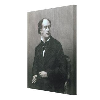 Daniel Maclise, Esq. RA Canvas Print
